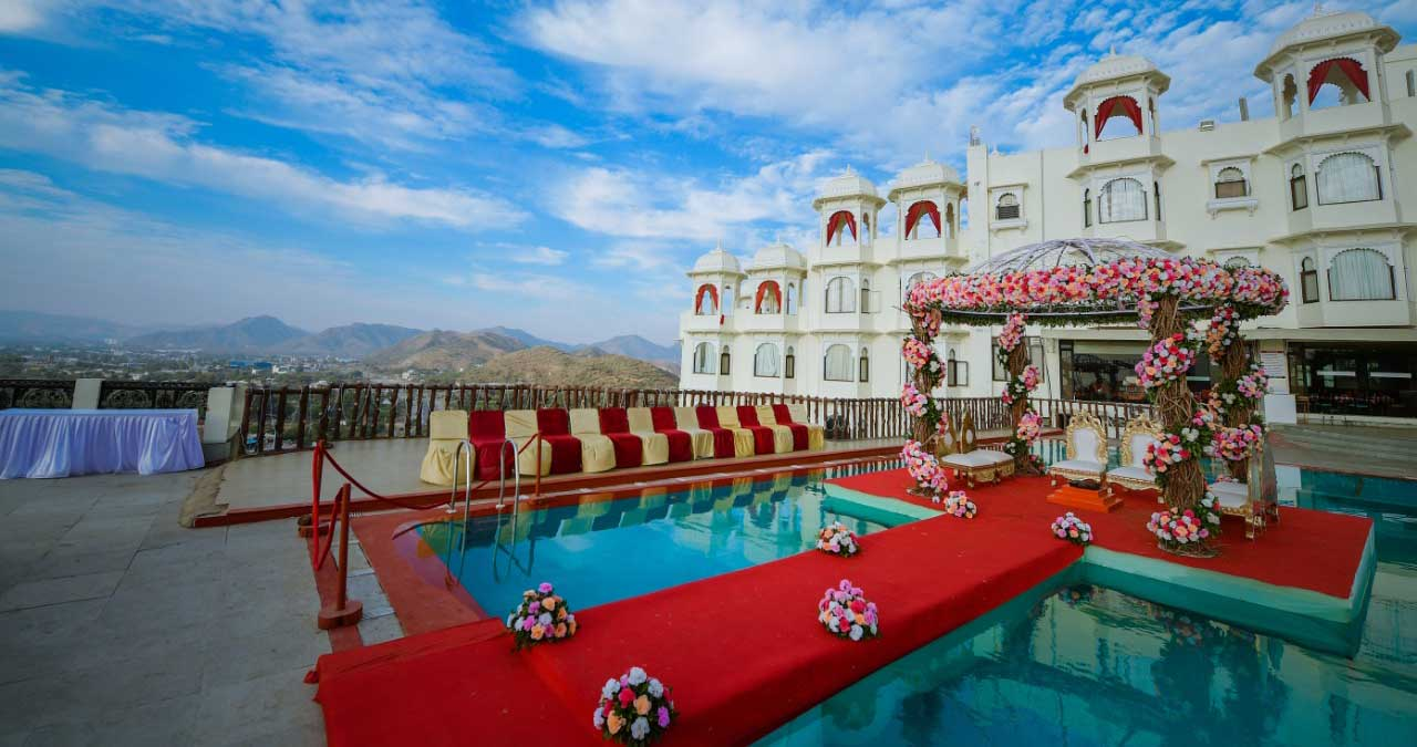 Weddings at bhairavgarh udaipur